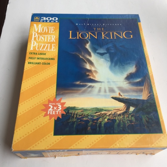 WALT DISNEY THE LION KING 300 PIECE PUZZLE